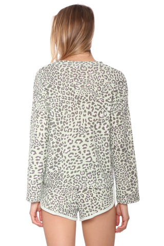 Z Supply Lyra Leopard Top