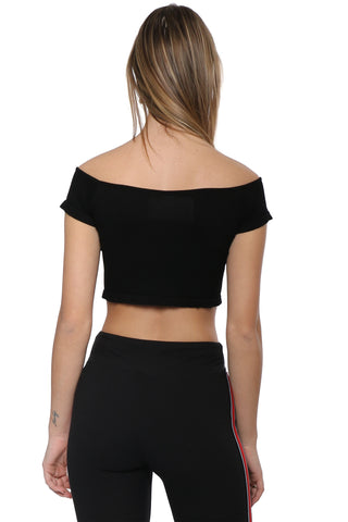Suzette Off The Shoulder Zipper