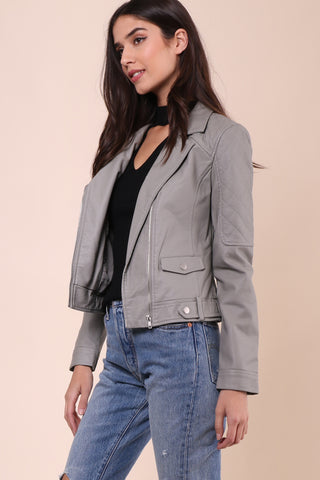 Jack By BB Dakota Clover Moto Jacket