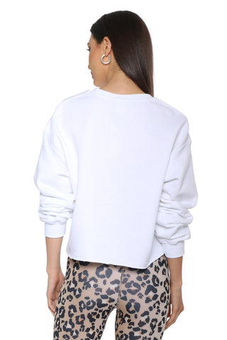 Sunday Stevens Mood Cropped Sweatshirt