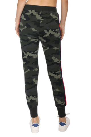 BB Dakota Leg Room Camo Fleece Sweatpant