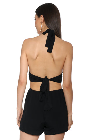 Brooklyn Karma Midnight Moon Romper