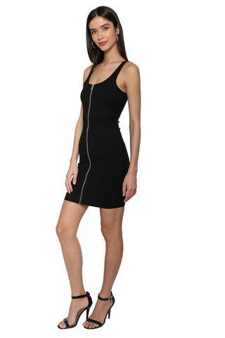 Robertson & Rodeo Zipper Mini Dress