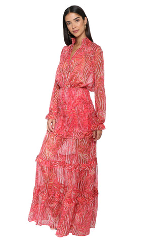 W.A.P.G. Long Sleeve Maxi Dress