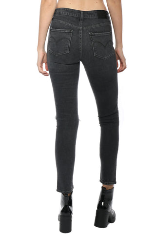 Levi's High Rise Skinny- Rugged