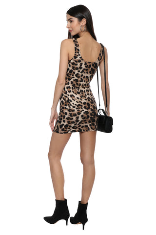 Jordyn Jagger Leopard Dress