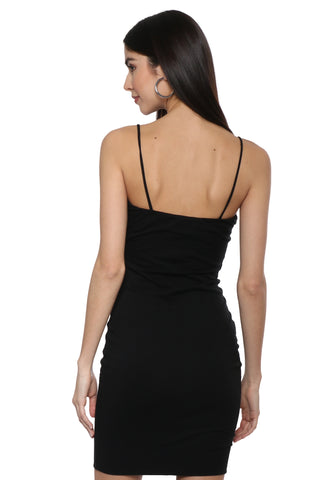 Bianca Double Layer Cami Mini Dress