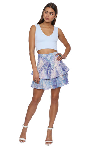 Gab & Kate Peri Skirt