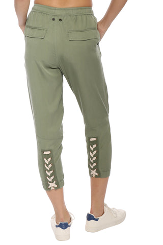 Brooklyn Karma Demi Lace Up Joggers