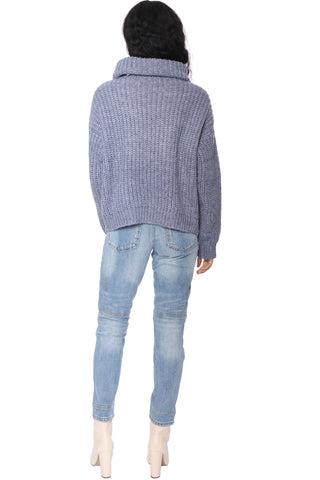 Fox + Hawk Serene Turtle Neck Sweater