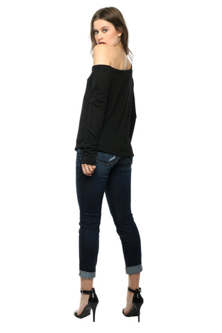 JET x Mixology Off the Shoulder Sweater