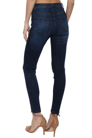 Dogma High Rise Dark Denim Skinny Jeans
