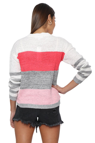 BB Dakota Tickled Pink Sweater