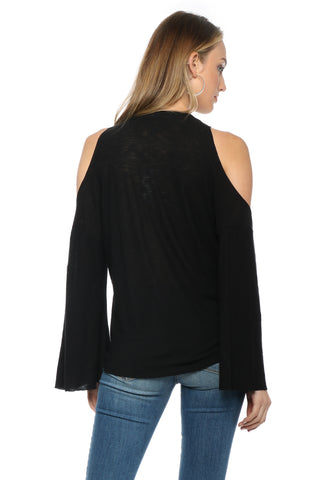 Jac Parker Sophie Cold Shoulder Top