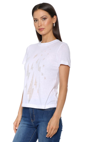 Jac Parker Lightening Bolt Burnout Tee
