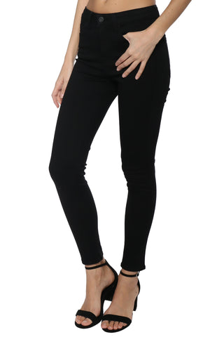 Flying Monkey Black HR Ankle Skinny