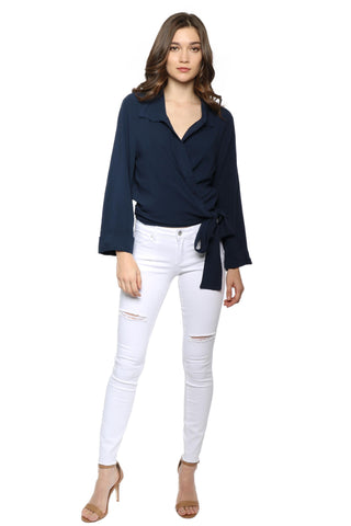 W.A.P.G. A Moment Like This Wrap Top