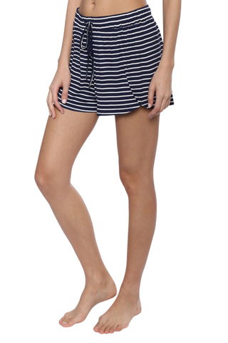Jac Parker Stripe Drawstring Shorts