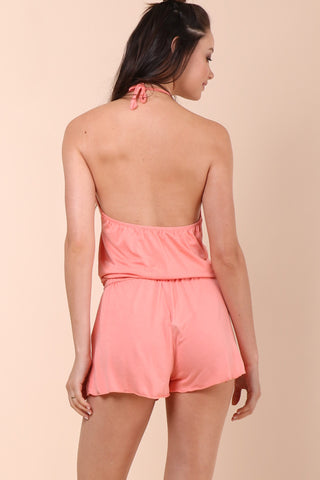 Jac Parker Everyday Romper - Blush