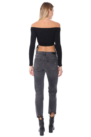 Night On The Town Crop Top