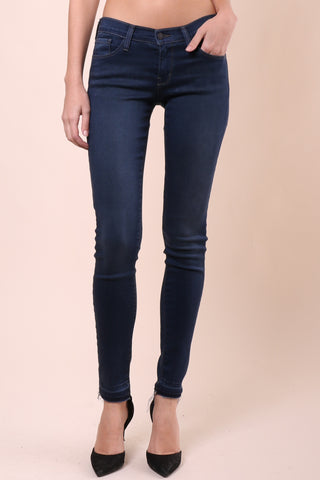 Flying Monkey Dark Raw Hem Skinny