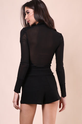 Kendall+Kylie High Neck Bodysuit