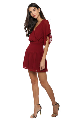 A World Away Wine & Dine Mini Dress