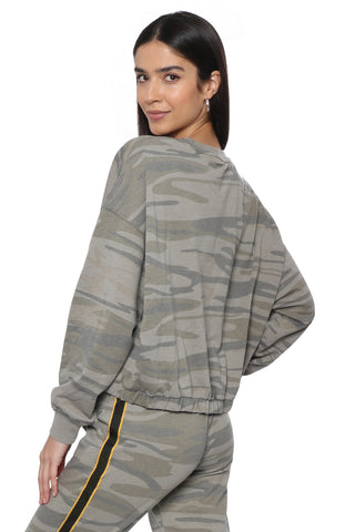 Z Supply Camo Relaxed Pullover