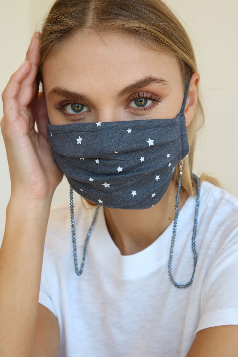 Birdie Facet Mask Chain