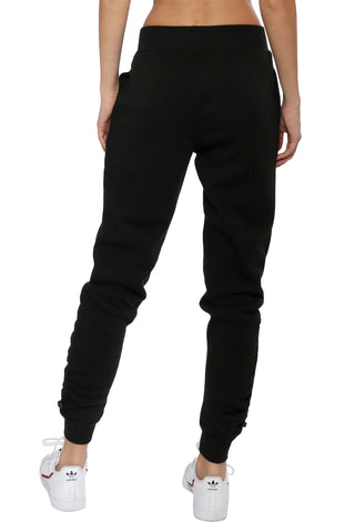 Z Supply The Loft Fleece Cinched Joggers