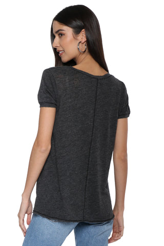 Project Social T Unforgettable Textured V Tee