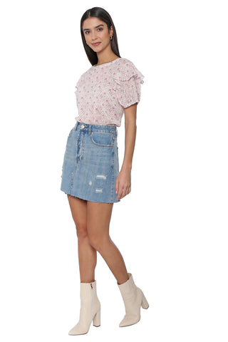 Brooklyn Karma Raquel Denim Skirt
