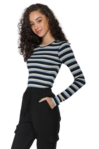 Z Supply The Pamina Stripe Rib Tee