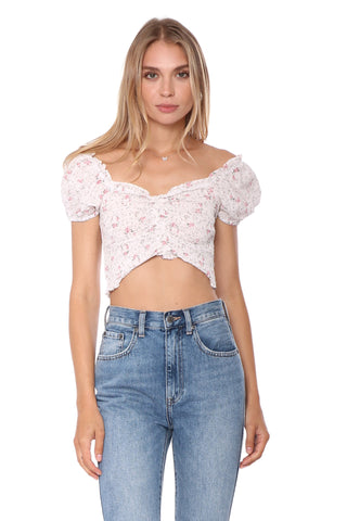 W.A.P.G. Blossom Crop Top