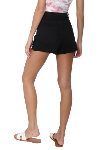 Tractr Blu High Rise Shorty Shorts