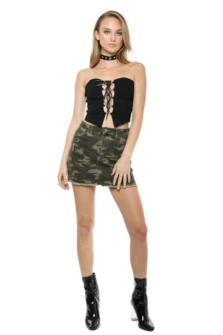 Brooklyn Karma Lace Up Corset Top