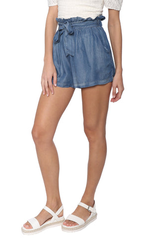 Sunday Stevens Cass Paper Bag Shorts