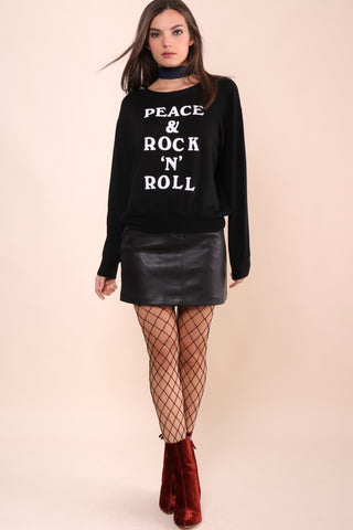 Peace & Rock 'N' Roll Sweatshirt