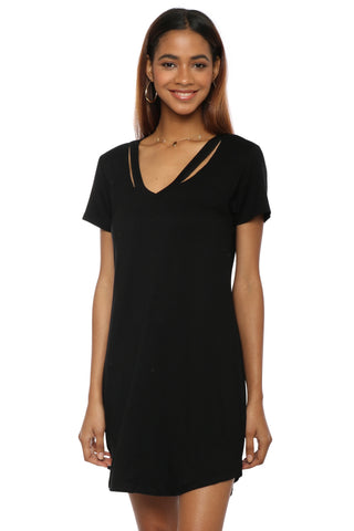 Z Supply The Cut Out V Neck Dress