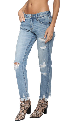 Hidden Distressed Skinny