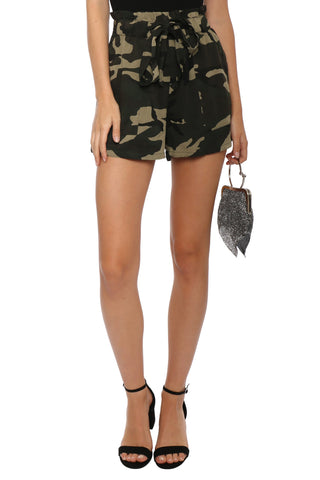Brooklyn Karma Waist Tie Shorts