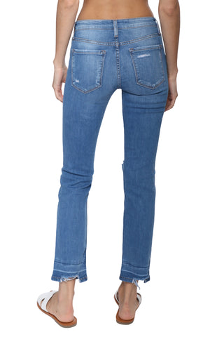 Flying Monkey HR Crop Straight Jeans