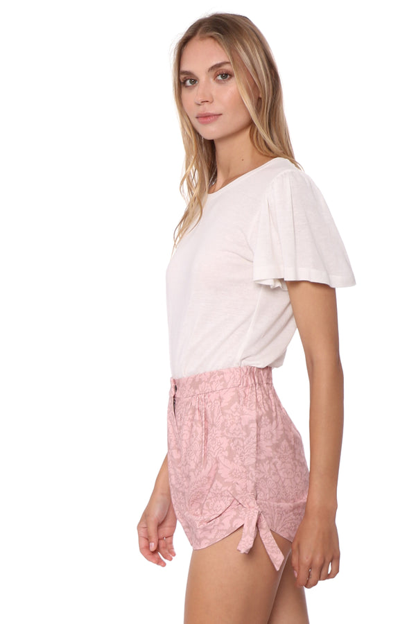 Shabby Chic Jasper Side Tie Shorts