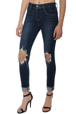 Levi's 721 High Rise Skinny - Rough