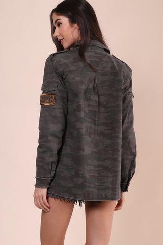 Willow & Clay Camo Jacket