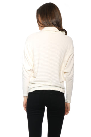Sunday Stevens Ribbed Hacci Sweater