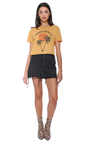 The Laundry Room X Mixology Venice Beach Crop Tee