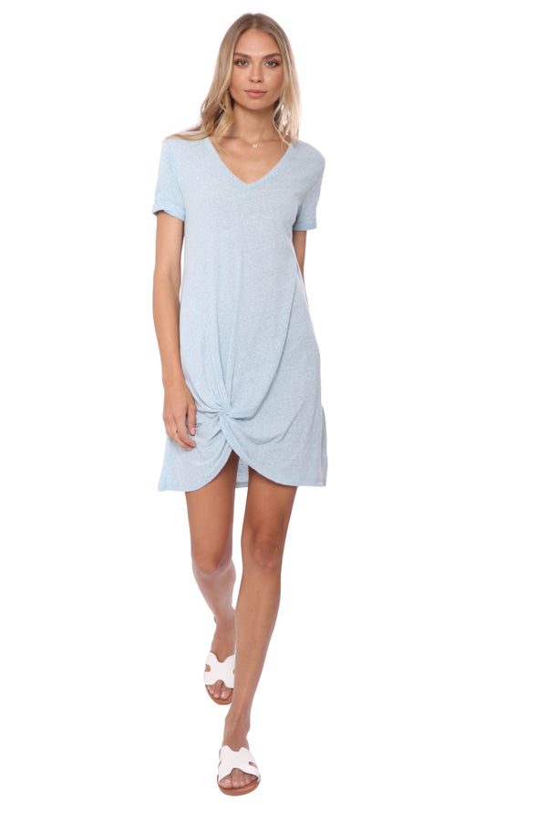 Z Supply Triblend Side Knot Dress