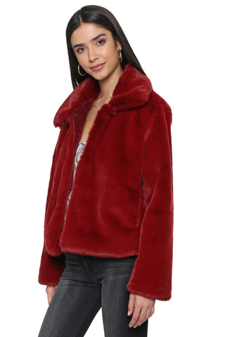 Decker Haute Faux Fur Jacket