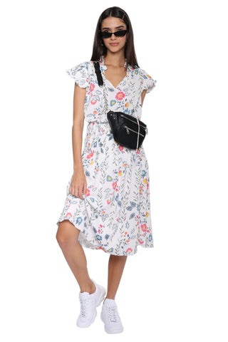 W.A.P.G. Versailles Midi Dress